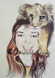 Sister portrait by freesoul93