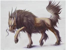 Chimera Creature Concept by CrimzonLogic