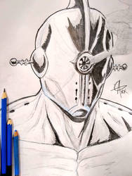 Millennium Star Sketch by GeekyAlexx