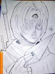 Phantom Hawk sketch by GeekyAlexx