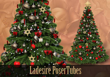 Christmas Tree by Ladesire