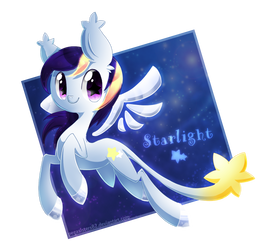 Starlight the Star Pony by PegaSisters82