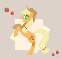 Applejack  Yeeehaw! by PegaSisters82