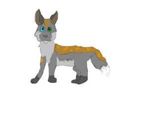 New fox oc by BluefeatherGaming