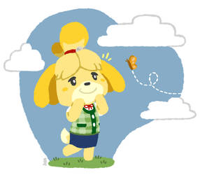 Isabelle going for a nice walk by SamuelJEllis