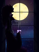 PKMN-Crossing: Harvest Moon Night by Aoiameku