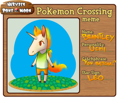HPM: Pokemon Crossing meme by Aoiameku