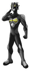 Seiranger: SeiBlack by kagami5566