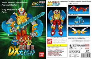 Fuhen Gattai DX DaiSeishin Box by kagami5566