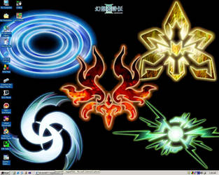 Genso Suikoden III True Runes by kagami5566