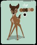 Bambi OC: Lily by MerlynsMidnight