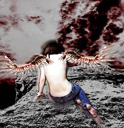 Fallen by ichigonyaa