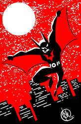 DSC Batman Beyond by DrSprinkles