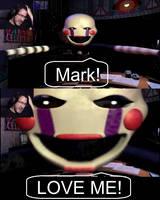 Love Me, Mark! by Mangojango16