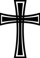 Gothic cross 4 by jojo-ojoj