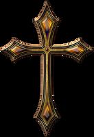 Gothic cross by jojo-ojoj