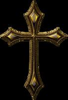 Gothic cross 2 by jojo-ojoj