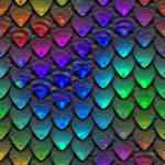 Scales painted (seamless texture) by jojo-ojoj