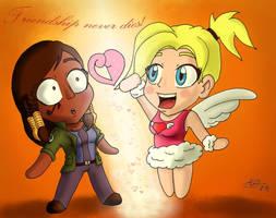 Friendship never dies by Nartance