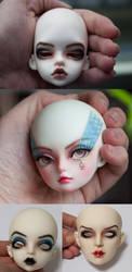 Face-ups 1 by BlackRoosje