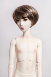 Portrait of a doll 2 by BlackRoosje