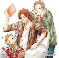 SPN:Sam Gabriel by shikakashi