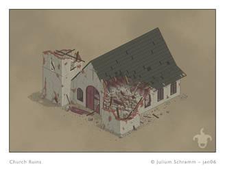 Church Ruins by julium