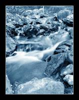 Steamy stream by Halvari
