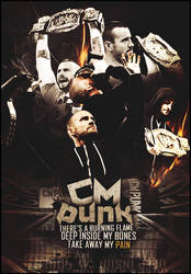 CM Punk - Poster 2013 by CagedVenom