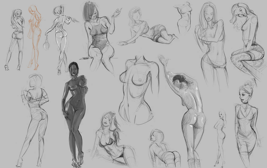 Sketches 01 by xben