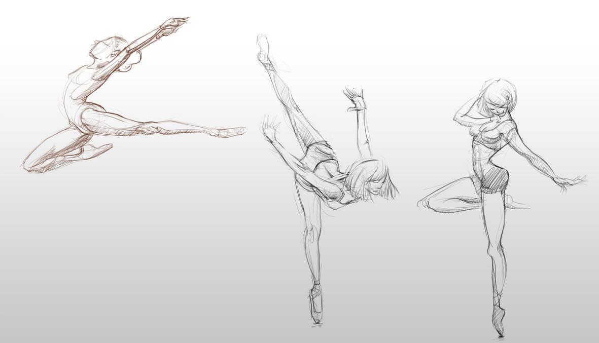 Ballet sketch by xben