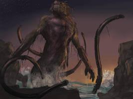 Kraken rough 3 by LozanoX
