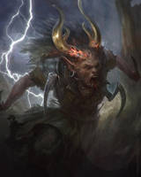 Demon runner by LozanoX
