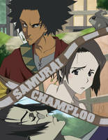 Samurai Champloo Trio by coreymill