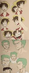 - One Piece Sketch Dump - by coreymill