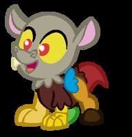 Baby draconequus base by Casey-the-unicorn