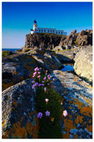 Neist Point Lighthouse by didjerama