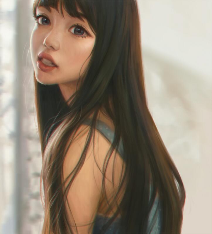 portrait study by MorRein