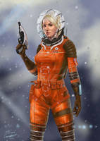 Space Girl by Jahmani