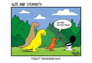 Toilet Training by Size-And-Stupidity