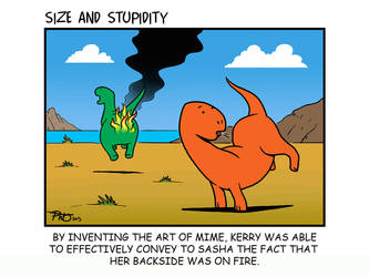Asses of Fire by Size-And-Stupidity