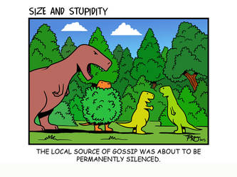 Gossip by Size-And-Stupidity