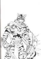 Tiger Warrior by Ragnarokdragon