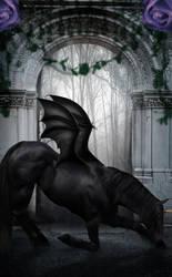 Dark Unicorn by Aysha1994raven