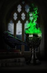Green Flame by Aysha1994raven