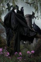 Crow Man by Aysha1994raven