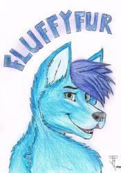 Fluffyfur badge by kon-rocks