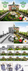 XXV Flowers and Art Festival by CreativeDesignsPL