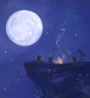 Moon Hamster Dance by eveyw