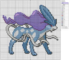 245 - Suicune by Makibird-Stitching